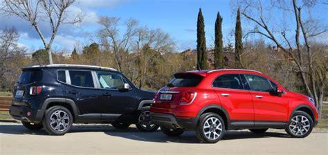 jeep renegade vs 500x fiat 500x vs jeep renegade revista de coches