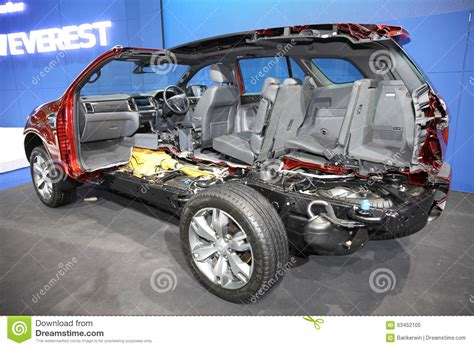 sections of a car bangkok december 1 cross section of ford everest car on