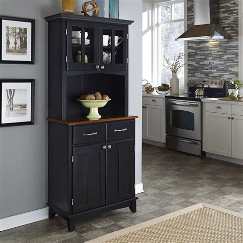 Kitchen Buffets Furniture Sideboards Amusing Black Kitchen Hutch Black Kitchen