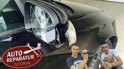 auto reparieren au 223 enspiegel wechseln erneuern reparieren vw bmw opel