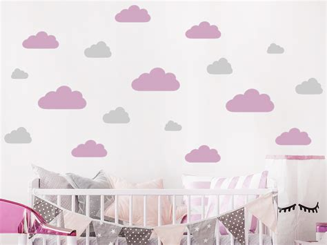Wandtattoo Kinderzimmer Wolken by Wandtattoo Wolken Set Wandtattoo De
