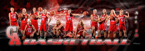 sports team photography templates creating sports banners sigma
