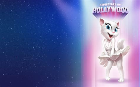wallpaper talking cat talking angela hd wallpapers pictures hd wallpapers
