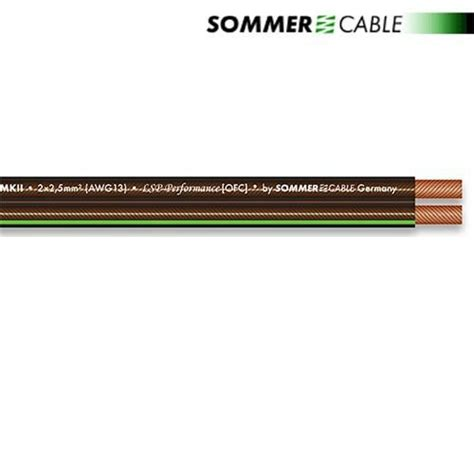 Kabel Antena Tv Transparan sommer cable 240 mkii sc orbit lautsprecherkabel 1 m