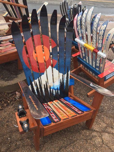 colorado ski chairs colorado orange moon mural ski chair 187 colorado ski chairs