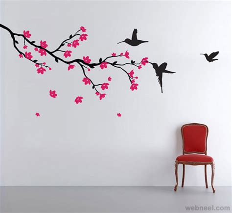 paint stickers for wall 30 beautiful wall ideas and diy wall paintings for