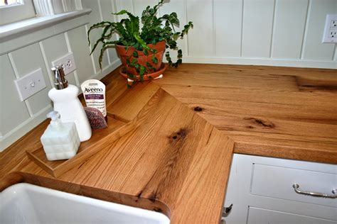 Kitchen Cabinet Corner Shelves by Reclaimed White Oak Wood Countertop Photo Gallery By