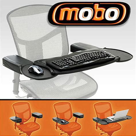 couch keyboard and mouse stand ergoguys mobo chair mount keyboard and mouse tray system