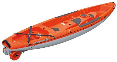 Kayak Bic Borneo : Le kayak aussi performant à plusieurs que seul (1, 2 ou 3 places)