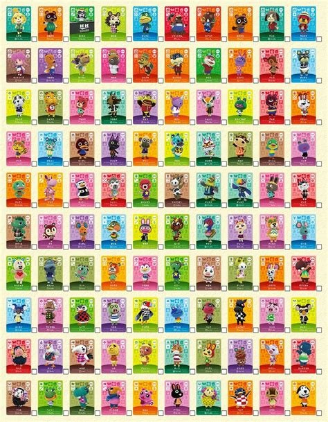 Animal Crossing Amiibo Card Template by Bidoofcrossing Animal Crossing Amiibo Cards Series 1