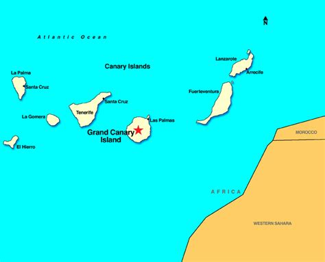 map of canary islands repositioning cruises repositioning cruise cruise