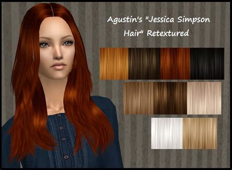 how can i get new hairstyles on sims freeplay mod the sims agustin s jessica simpson hair retextured