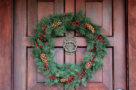 ideas for seasonal front door wreath the enchanted manor