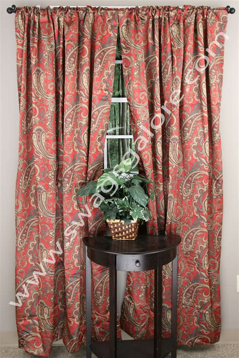 bali drapes bali blackout panel crimson renaissance view all