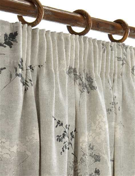 grey print curtains curtain details for cow parsley print grey next made to
