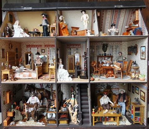 victorian dolls house figures doll house by house of broel quot the best little whorehouse in texas quot ebay antique