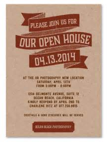 Business Open House Invitation Templates Free by Business Event Invitations Open House By Green Business