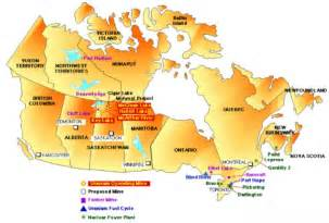 map of mines in canada purepoint uranium 183 uranium mining and production in