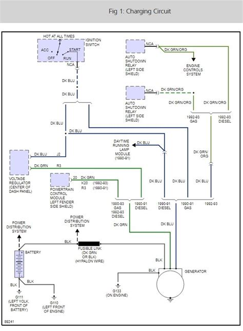 chrysler external voltage regulator wiring diagram 50