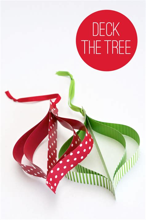 Make Paper Ornaments - it s a mod mod ornament paging supermom