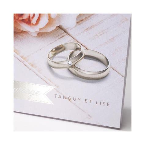 Faire Part Mariage Romantique Chic