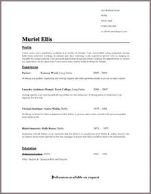 Example Resume Template Layout by Cv Template Free Job Cv Example