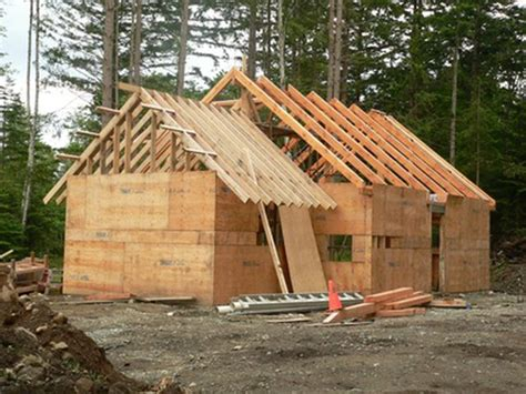 build a cottage how to build roof rafters using a framing square hunker