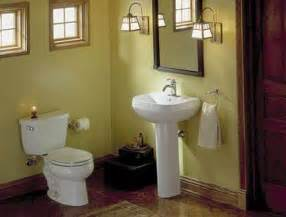 Small bathroom ideas space saving toilet and pedestal sink
