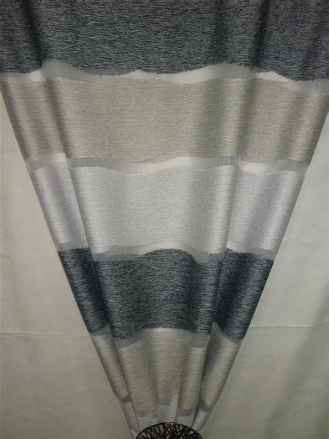 vorhang grau beige deko stoff vorhang querstreifen grau beige anthrazit