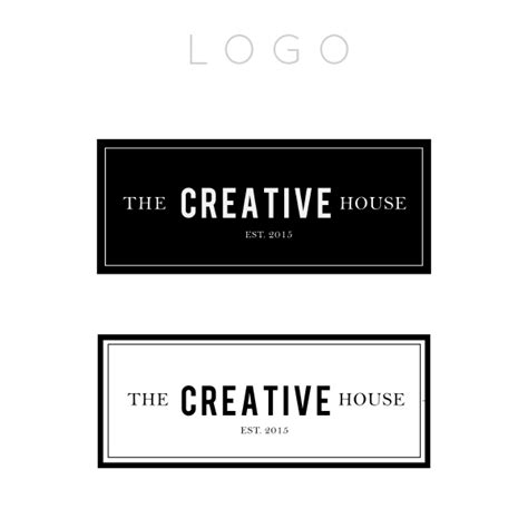 the creative house moodboard lauren carns the creative house logo branding project lauren carns