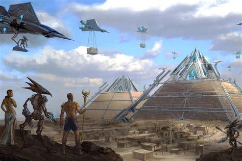 Sci Fi Home Decor online kaufen gro 223 handel alten 228 gypten pyramiden aus china