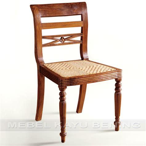 Kursi Kayu Antik kursi makan antik kayu jati rafless rotan
