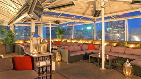 Roof Top Bar Manhattan by Rooftop Bars Nyc Four Points Midtown Times Square