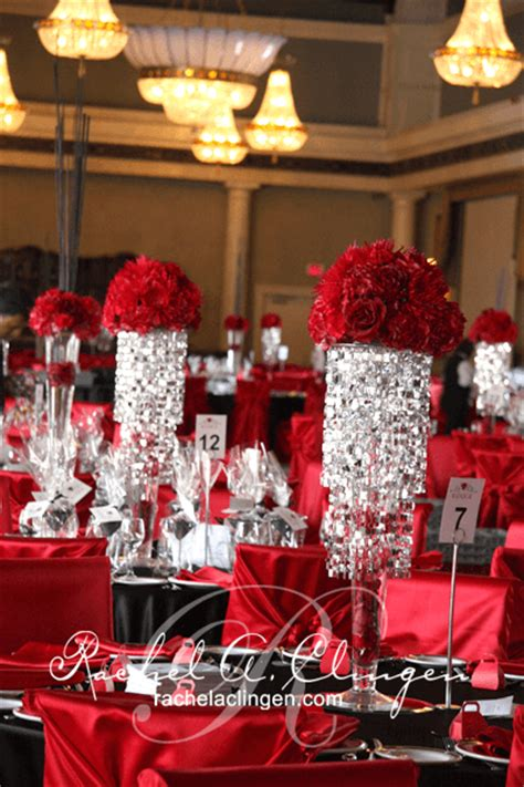 corporate centerpieces and luxurious seating wedding