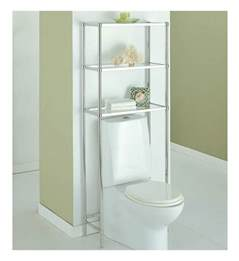 the toilet shelving unit