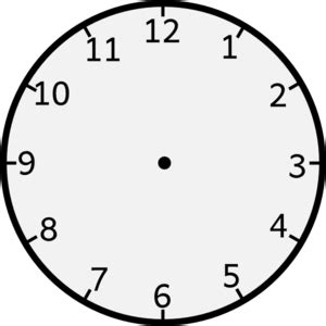 clock without arms clip art at clker.com vector clip art