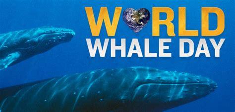world whale day  printable  calendar templates