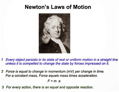 isaac newton biography three laws motion newton s laws of motion me mechanical engineering