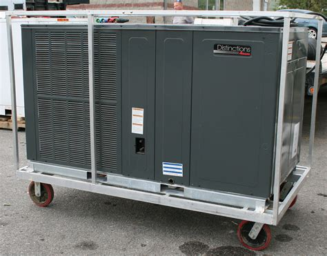 Ac Outdoor Unit mobile 5 ton air conditioning unit rental events