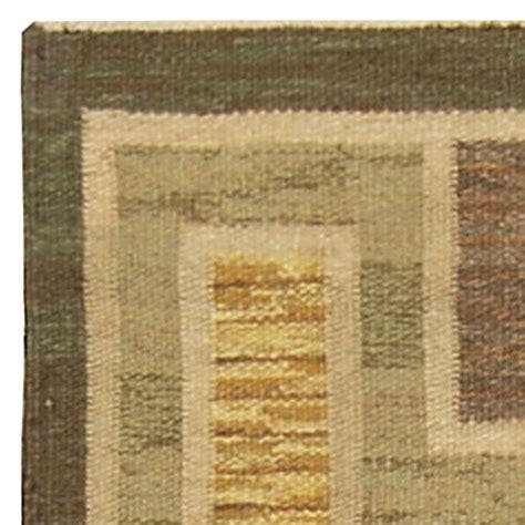 weaved rugs vintage swedish flat weave rug bb4921 by doris leslie blau