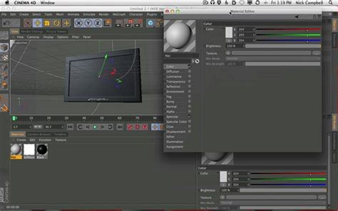 tutorial after effects y cinema 4d cinema 4d to after effects plasma tv tutorial on vimeo