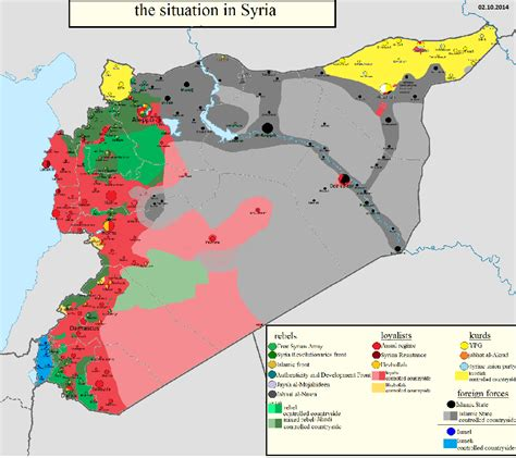 talk cities and towns during the syrian civil war