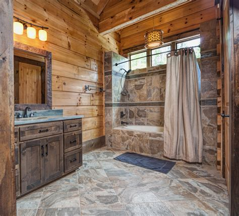 bathrooms in log homes 12 insanely gorgeous log house bathrooms tin pig