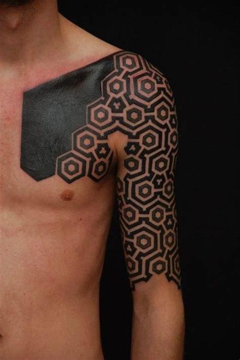 black pattern tattoos 101 latest geometric tattoo designs and ideas