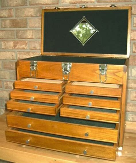 wooden tool chest with drawers 254 best images about wooden tool chests on