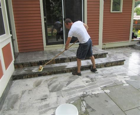 How To Clean Bluestone | how to clean a patio