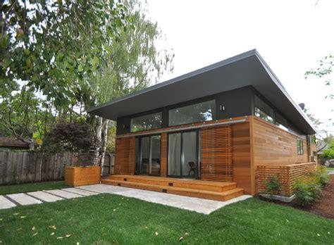 modular guest house california shades kaufmann s prefab has