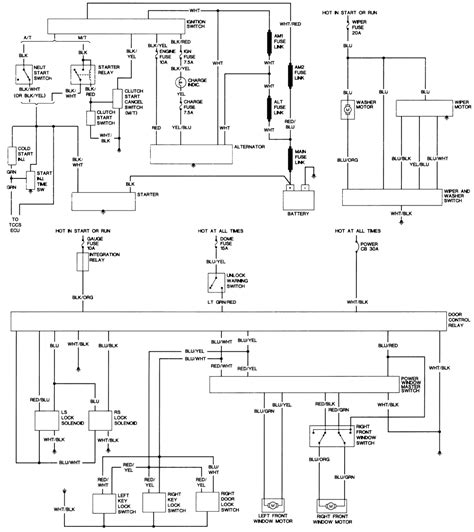 1982 toyota alternator wiring diagram wiring