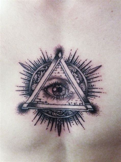 all seeing eye tattoo by mumitrold on deviantart