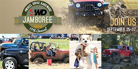 jeep jamboree logo 4wd jeep jamboree overtakes columbiana ohio this weekend